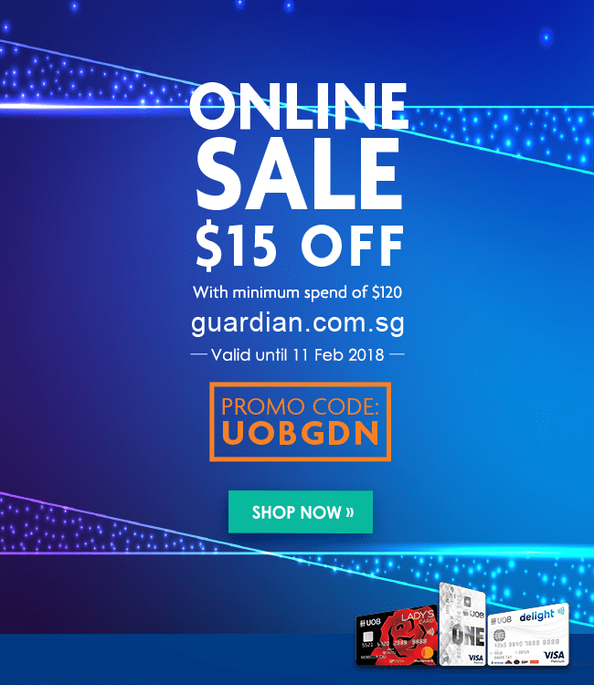 Online sale! Get $15 off with a promo code: UOBGDN