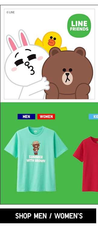 Shop Men's and Women's LINE UT