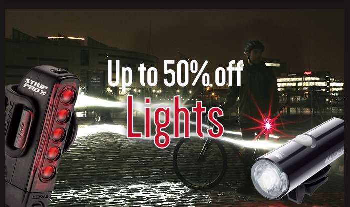 Up to 50% off Lights