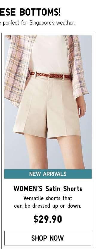 Shop Women's Satin Shorts