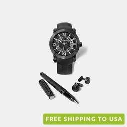 Montegrappa Nero Uno Automatic Watch Box Set