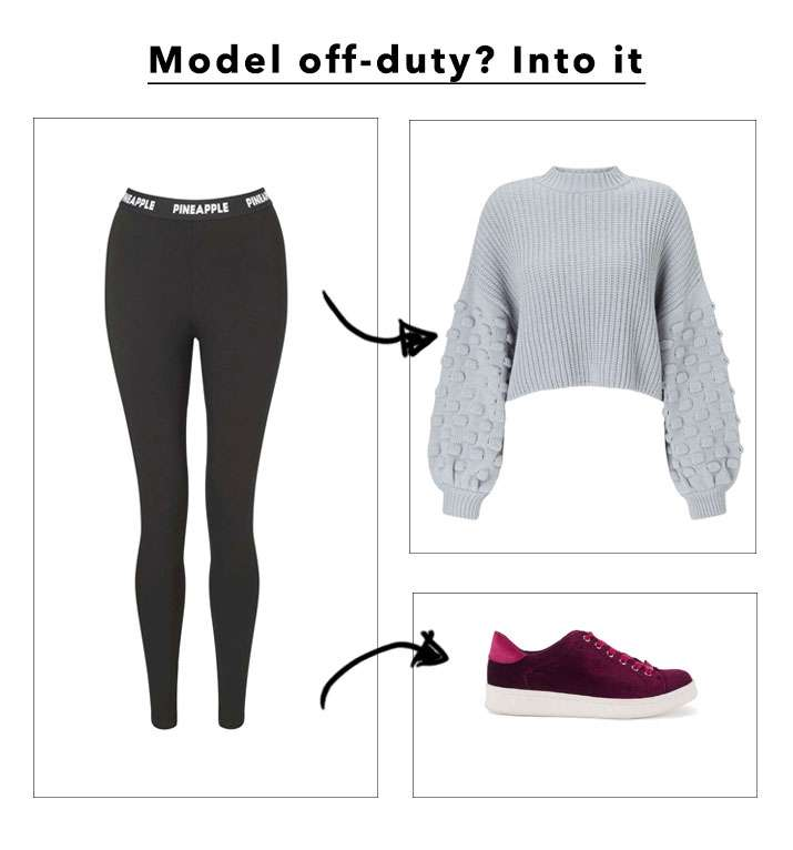 Model Off-Duty? Into It - Shop The Look