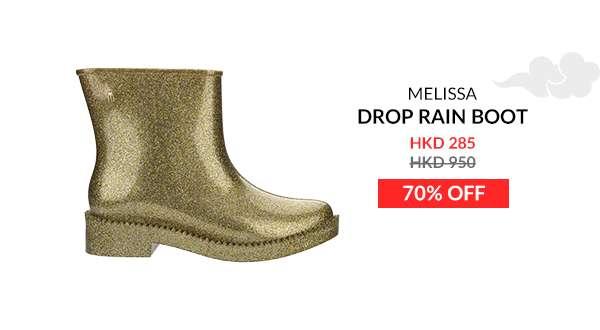 melissa drop rain boot ad