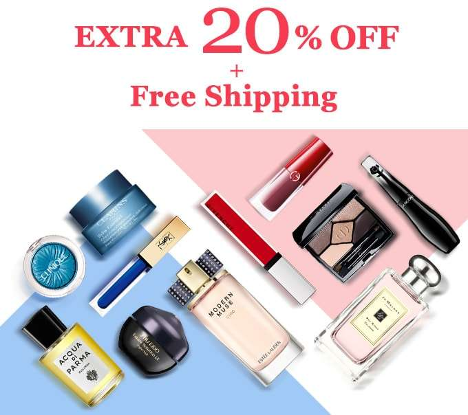 Get Extra 20% Off + Free Shipping! You've scored our top-secret deal! Offer ends 4 Feb 2018.