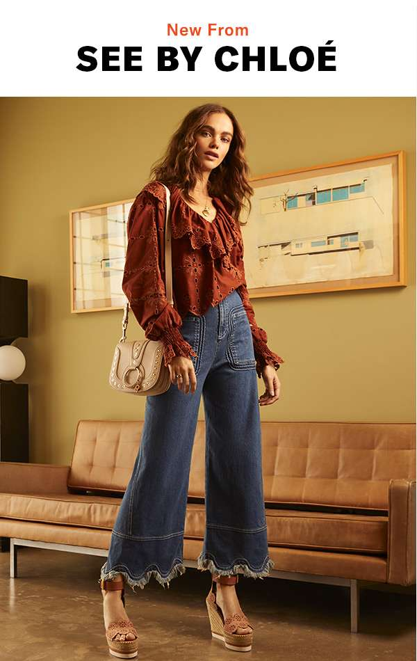 The label serves up eclectic cool in the form of breezy silhouettes, platform sandals, and free-spirited prints.