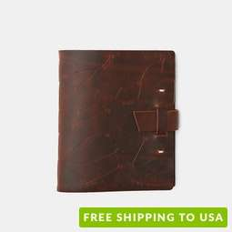 Rustico Zodiac Night Sky Leather Journal
