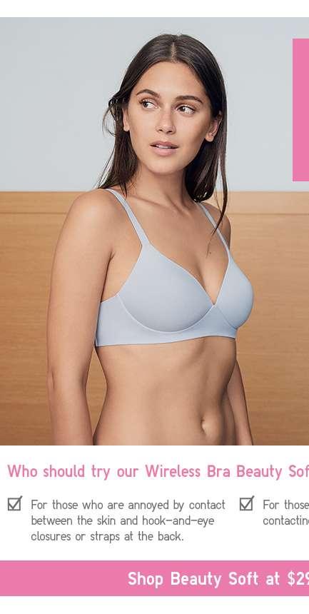 Shop Women's Wireless Bra Beauty Soft at $29.90