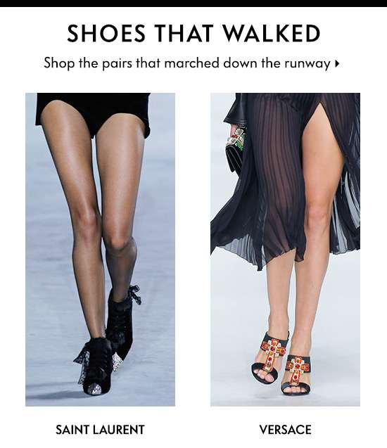 Shoes that Walked