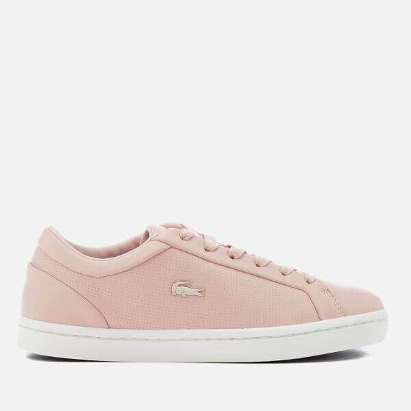 Lacoste Women's Straightset 118 2 Leather Cupsole Trainers
