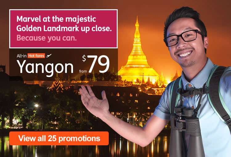 Hot Fares to Yangon