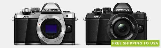Olympus OM-D E-M10 Mark II w/ 14–42mm Lens
