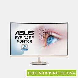 ASUS 27-Inch Curved Full HD Eye Care Monitor