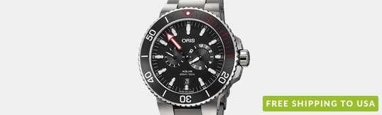 """Oris Aquis """"Der Meistertaucher†Automatic Watch"""
