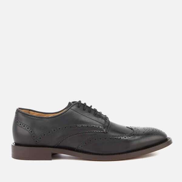 Hudson London Men's Whitman Hi Shine Leather Brogues