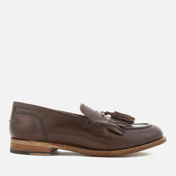 Grenson Men's Mackenzie Hand Painted Leather Tassel Loafers