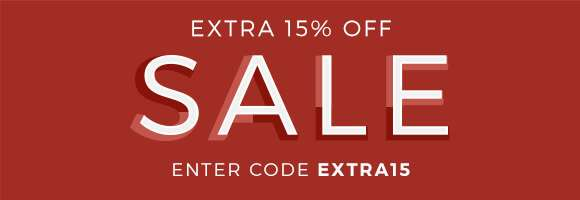 Extra 15% off Sale