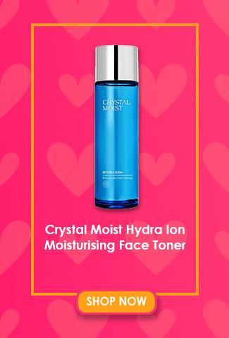Crystal Moist Hydra Ion Moisturising Face Toner