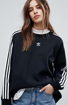 adidas Originals adicolor Three Stripe Sweatshirt