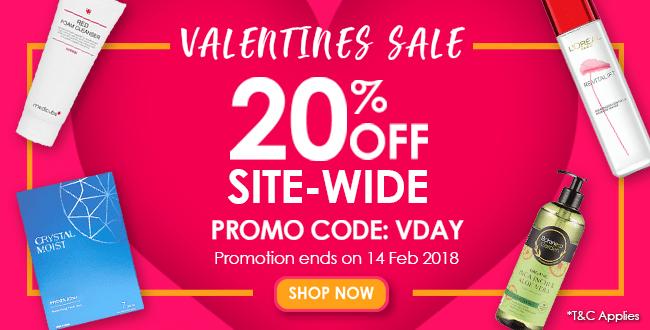 Valentine's Day Sale: Storewide 20% off!