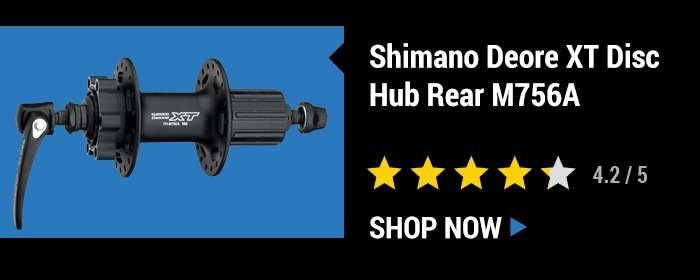 Shimano Deore XT Disc Hub Rear M756A