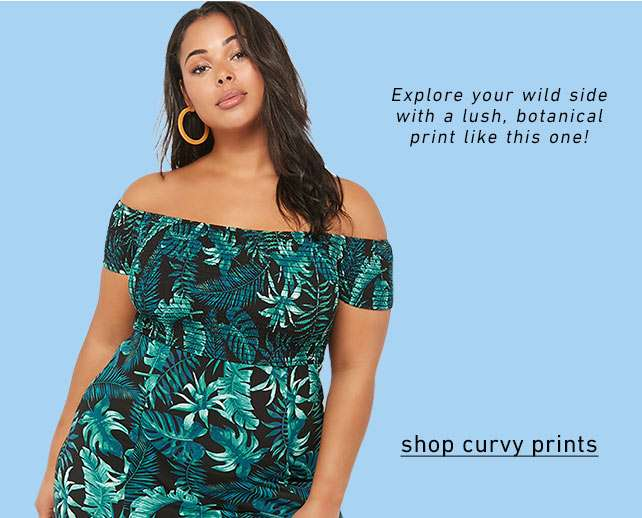 Shop curvy prints ~ Shop Plus