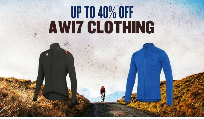 Up to 40% off AW17 Clothing