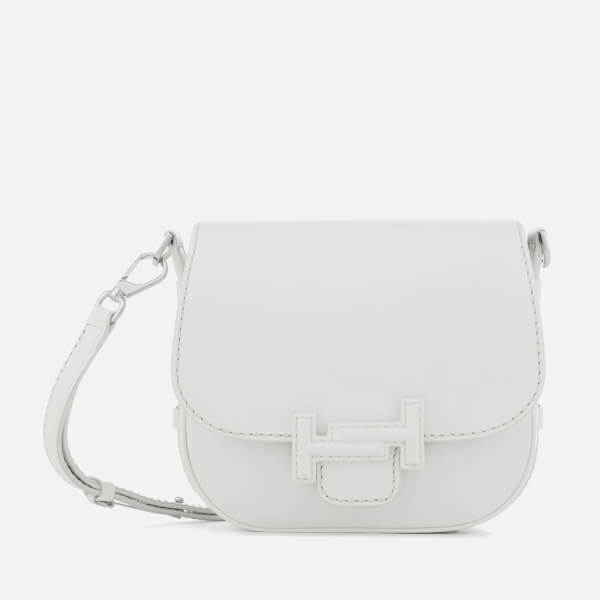 Tod's Women's Double T Mini Shoulder Bag - White