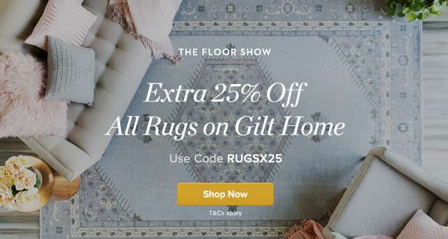 Extra 20% Off All Rugs