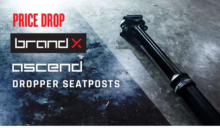 PRICE DROP! Brand-X Ascend Dropper Seatpost
