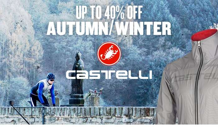 Up to 40% off Autumn/Winter Castelli