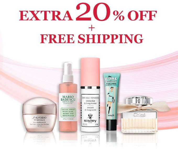 Get Extra 20% Off + Free Shipping! You've scored our top-secret deal! Offer ends 4 Mar 2018.