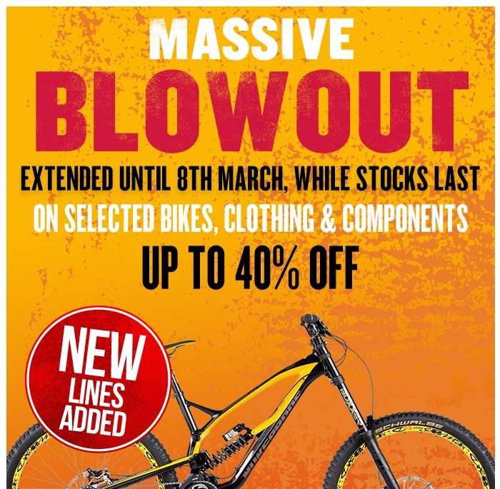 MASSIVE BLOWOUT EXTENDED