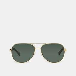 Ermenegildo Zegna Polarized Aviator Sunglasses