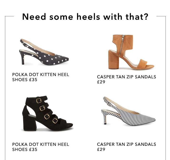 Need Some Heels With That? - Shop Heels