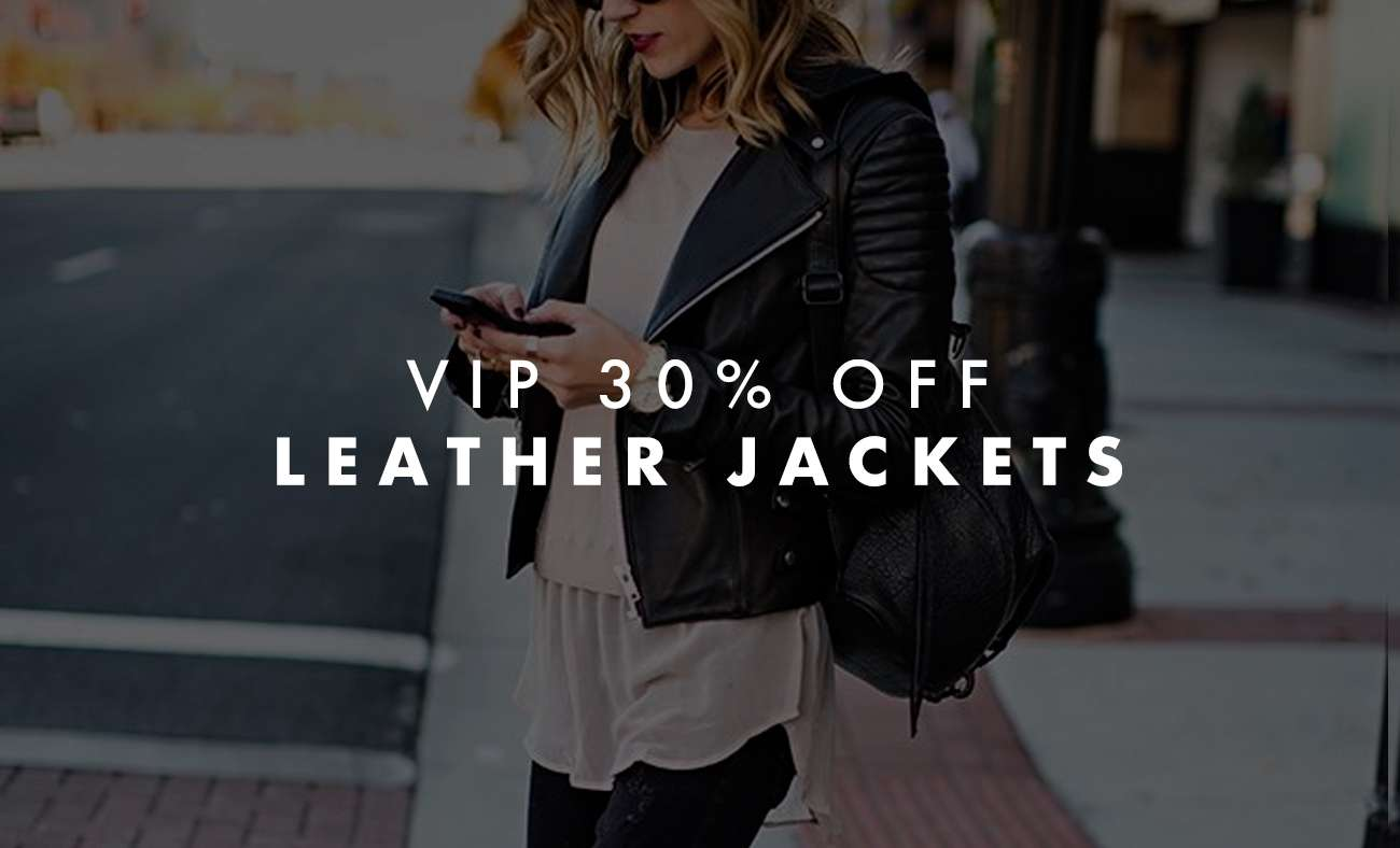 VIP SALE LEATHER JACKETS