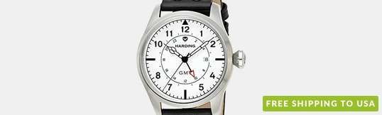 Harding Jetstream GMT Quartz Watch