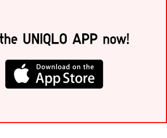 Download UNIQLO APP from App Store
