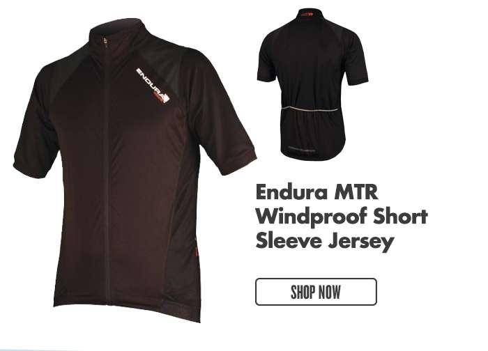 Endura MTR Windproof Short Sleeve Jersey