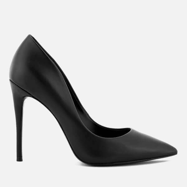 Daisie Leather Court Shoes