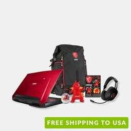MSI Dominator Pro Dragon Gaming Laptop Bundle