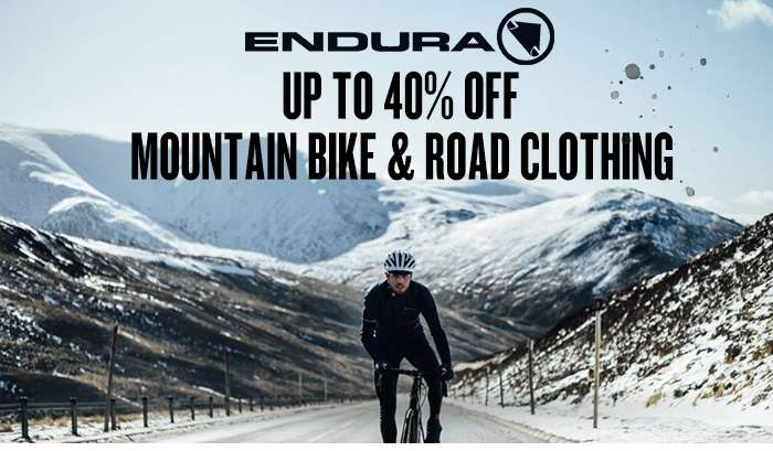 Up to 40% off Endura mountain bike & road clothing All Tribes. One Clan.