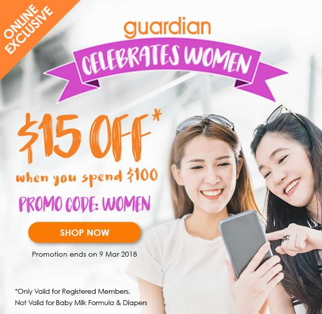 Take $15 off when you spend $100! Promo Code: WOMEN