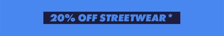 20% off streetwear