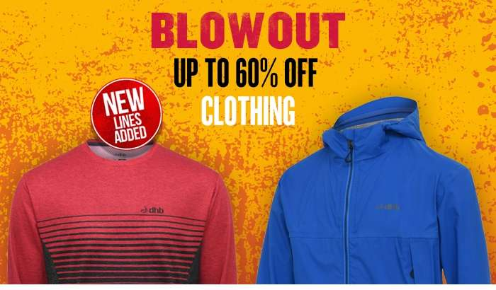 BLOWOUT CLOTHING Up to 60% Off New Lines Added