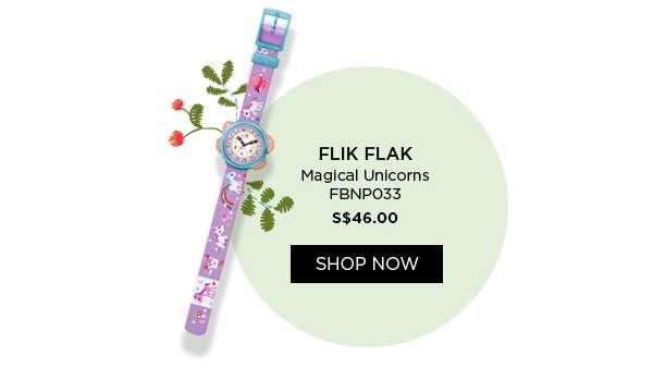 Shop Now: Flik Flak Magical Unicorns FBNP033 S$46.00 target=