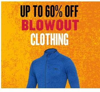 Blowout - Up to 60% off Clothing