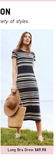 Shop Women's Long Bra Dress