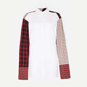 HELMUT LANG - Patchwork-panel shirt