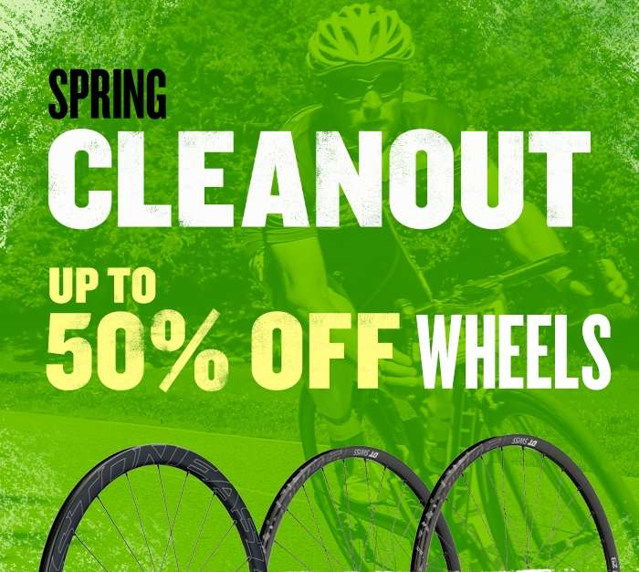 Spring Cleanout - Up to 50% off Wheels
