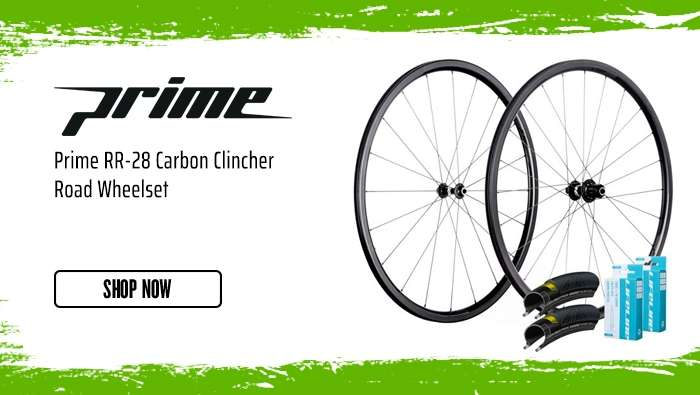 Prime RR-28 Carbon Clincher Road Wheelset